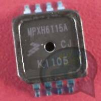 MPX5100DP Freescale//Motorola  Drucksensor Int 100kPa -2,5/% C867C  NEW #BP 1 pc