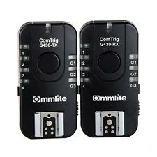 Commlite G430C Wireless & Grouping Flash Trigger 7CH TTL for Canon Olympus ED