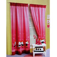 Pair of Ruby Gloom Girls Children Kids Rod Pocket Curtains 120 x 213 cm
