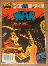 CHARLTON COMICS #25 WORLD AT WAR TRIAL BY FIRE MID HIGH GRADE