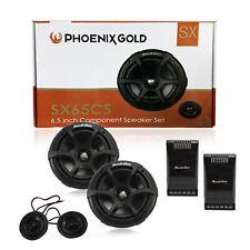 "Phoenix Gold SX65CS 6.5"" Component Speaker Set 250 Watts Peak RMS 125W Car Audio"