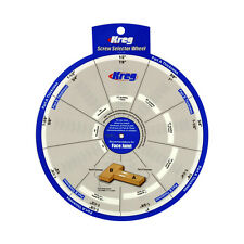 Kreg Tools SSW Screw Selector Wheel for Kreg Jig K3, K4, K4MS, K5, and R3