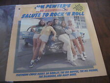 Jim Pewters Salute to Rock 'N Roll SEALED Record lp Chuck Berry Bo Diddley car