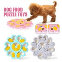 Interactive Dogs Cat Food Feeder Pet Puzzle Activity Toys Training Games Bowls