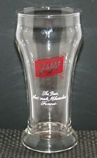 "SCHLITZ BR. CO. ST. MILWAUKEE,WI. VINTAGE 1970's A.C.L. ""SHAM"" STYLE BEER GLASS"