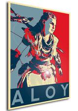 Poster Propaganda - Horizon Zero Dawn - Aloy