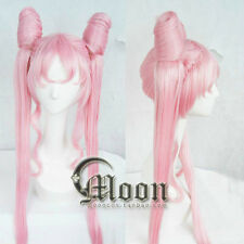 BLACK LADY Sailor Moon Sailor Chibi moon Small·Lady Pink Cosplay Party Wig Hair