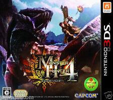 Used Nintendo 3DS Monster Hunter 4 NINTENDO 3DS JAPANESE  IMPORT