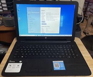 Hp 15-BA079DX touchscreen laptop. AMD A10, 6GB  Ram, 1TB HDD.