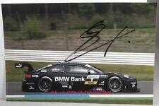 PHOTO cm 13x18 signed by Bruno Spengler BMW M3 DTM #7 HOCKENHEIMRING 2012