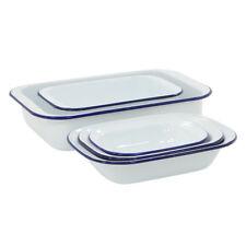 ProCook Traditional Enamel Bakeware Set Quality Chip Resistant