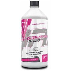 L-Carnitine 3000 Concentrated Liquid Fat Metabolism Accelerator Trec Nutrition