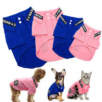 Small Dog T-Shirt Pet Puppy Breathable Mesh Vest Clothes Apparel Chihuahua S-XL