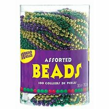 Assorted Party Bead Necklaces, 100 Ct.