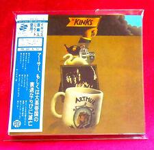 The Kinks Arthur Or The Decline SHM MINI LP CD 2 X CD JAPAN UICY-75105-06