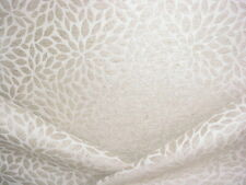 1-7/8Y Scalamandre 27239 Risa Weave Birch Floral Chenille Upholstery Fabric