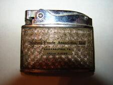Vintage Howard Lighter - Mutual Funds Associates, Inc. Philadelphia, Pa LOcust