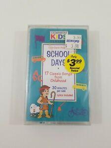 Cedarmont Kids School Days Cassette NEW SEALED