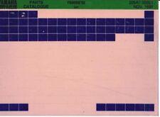 Yamaha FS 80 SE Microfich Microfilm Teile Katalog Stand 1982