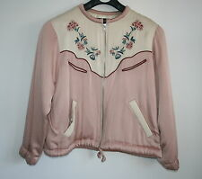 Isabel Marant embroidered sateen bomber jacket FR36(S-M) RARE COLLECTORS ITEM