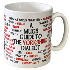 Yorkshire Dialect Coffee - Tea Mug - Joke - Idea Gift / Secret Santa