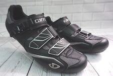 Giro Apeckx Road Cycling Bike Bicycle Shoes Men's Size 46.5 Black Silver