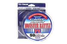 Sunline P.E Line X8 Monster Battle Cast Away 300m P.E 6 90lb (6086)