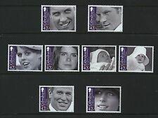 Grandchildren of Queen Elizabeth II set of 8 mnh stamps Gibraltar 2009