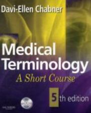 Medical Terminology: A Short Course, 5edition  Davi -Ellen Chabner  new with cd
