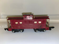 American Flyer Reading caboose 630 Painted Dark Red