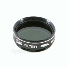 """GSO 1.25"""" Color / Planetary Filter - #58A Dark Green"""