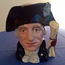 "Royal Doulton ""George Washington"" Large Character Mug D6669"