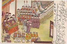 K 520 - China Compagnievorstellung bei den Weissflaggen, gelaufen 1901