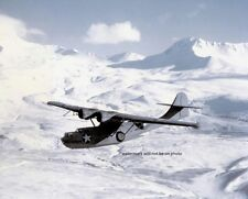 "Consolidated PBY-5A Catalina over the Aleutians 8""x 10"" World War II Photo 231"
