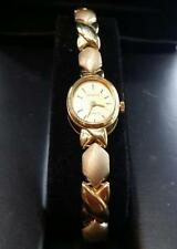 1990s 14k Yellow Gold Case & Gold Bracelet-style Wrist Watch by GENEVE Watch Co.