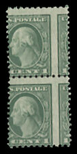 Scott US# 542 1920 Perf 10 x 11, Vertical Pair, LH