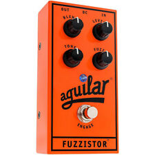 Aguilar Fuzzistor Silicon Transistor Fuzz Electric Bass Effect Pedal