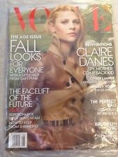 CLAIRE DANES VOGUE MAGAZINE AUGUST 2013  FREE SHIPPING