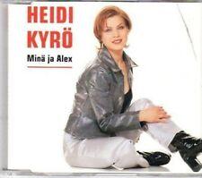 (AY645) Heidi Kyro, Mina Ja Alex - 1996 CD