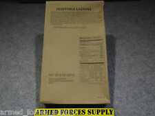 MILITARY MRE MRE'S ENTREE MEAL VEGETABLE LASAGNA CAMPING SURVIVAL EMERGENCY FOOD