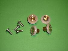 Small Shower Door Rollers, Wheels, Runners.19mm x 4.3mm stainless steel SR67