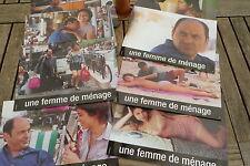 UNE FEMME DE MENAGE de C.Berry avec JP Bacri ; jeu de 8 photos d'exploitation
