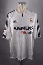 Real madrid camiseta talla xxl 2003-2004 Home adidas Jersey españa siemens nuevo