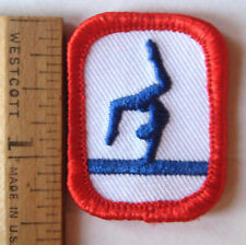Girl Scout Cadette Senior GYMNASTICS BADGE IP Council Own Balance Beam Gym Patch