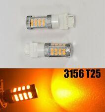 Reverse Backup Light 92 SMD LED Bulb Amber T25 3156 3456 B1 #1 For Buick Mazd