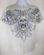 "Affliction Fedor ""The Last Emperor"" Distressed Emelianenko Graphic Shirt Small"