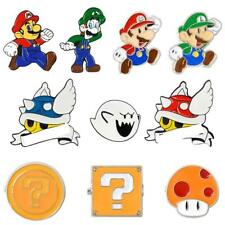 Blue Shell Super Mario Kart Enamel Pin Comics Video Game Boo Ghost Lapel Pins Ba