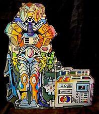 MOTU 1982 - Castle Grayskull Cardboard Cutout - Space Suit Insert Part - He-Man
