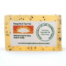 ACNE, VULGARIS, SPOTS & BLACKHEADS Removal - Organic Face & Body Soap Bar Sample