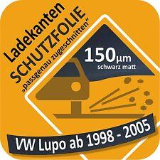 für VW Lupo Ladekantenschutz Folie Lackschutzfolie Schutzfolie Struktur 150µm